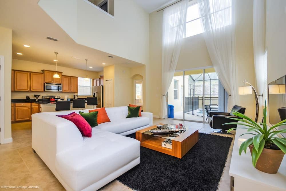 Villa (Fantastic Resort 5 Bed 5 Bath Villa W) - Sala de estar