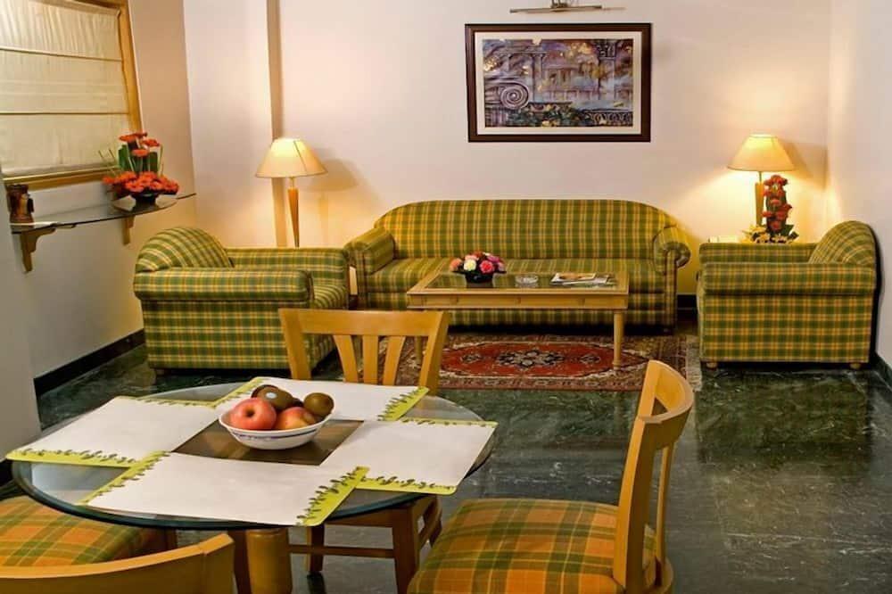 Lakosztály, 1 hálószobával - Nappali