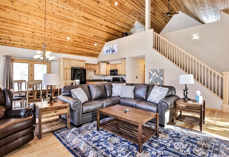 Oak Lane Lake House - Hiller Vacation S 3 Bedroom Home, Eagle River, Hus, 4 soverom, Stue