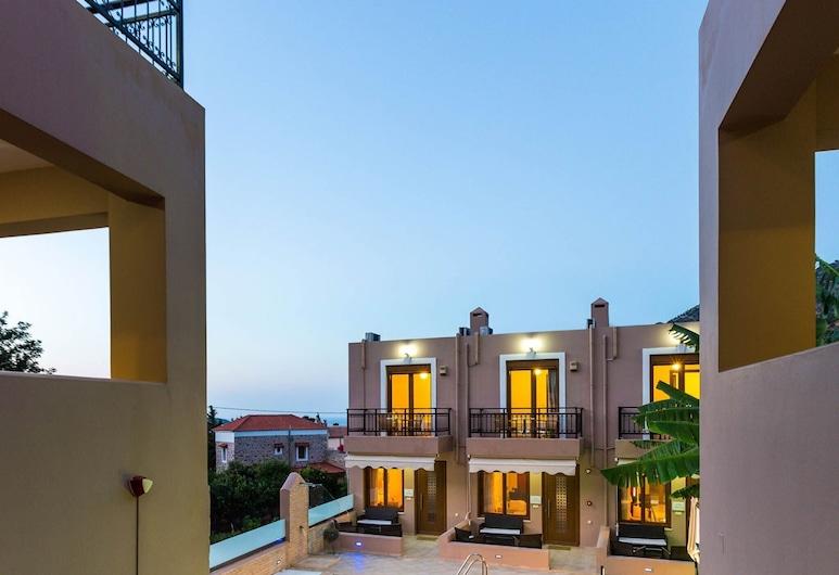 This Split Level Villa Perfect Place to Stay Wail in Rethymnon, Crete, Milopotamos, Z zewnątrz