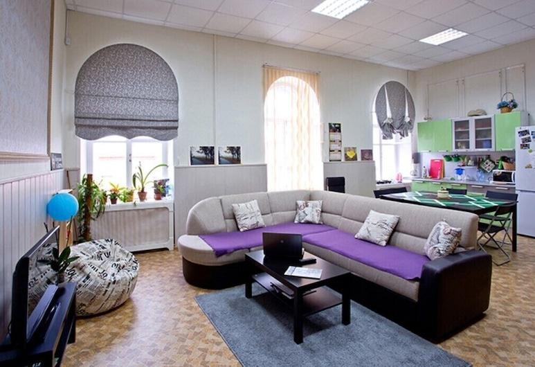 Yaroslav Hostel Veliky Novgorod, Veliky Novgorod, Sitteområde i lobbyen