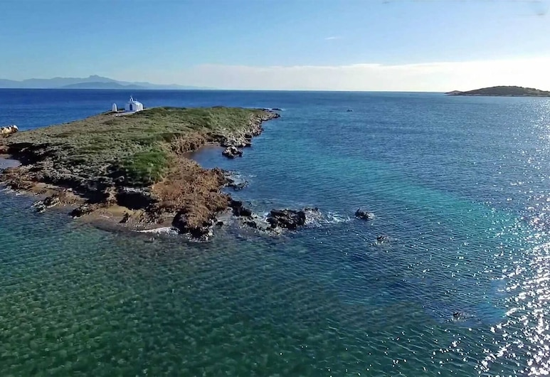 Villa Liana : Luxury Villa With Fantastic Sea View, Near Airport, Markopoulo Mesogaias, Playa