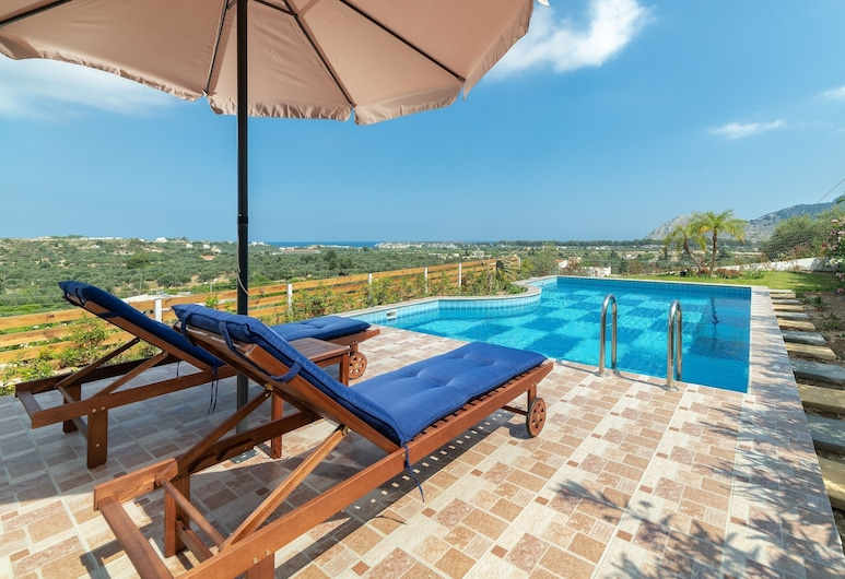 Kolymbia Dreams 3 Bedroom With Private Pool, Rodos, Svømmebasseng