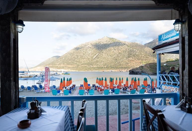 Junior Suite With Mountain View in Akrogiali Luxury Aparthotel, Mylopotamos, Pool