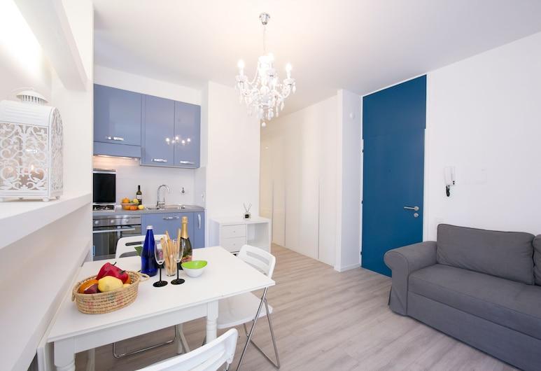 Piccola Grecia 4, Lugano, Apartman, 1 spavaća soba, balkon, Dnevni boravak