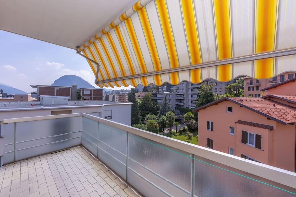 Family Apart Daire, Birden Çok Yatak (Queen Home) - Balkon