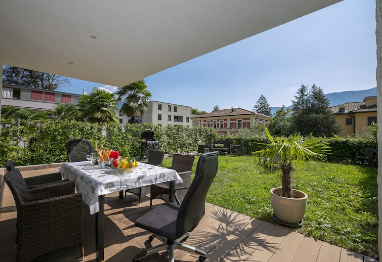 Rebecca Garden, Lugano, Obiteljski apartman, Više kreveta, vrt (Rebecca Garden), Terasa/trijem