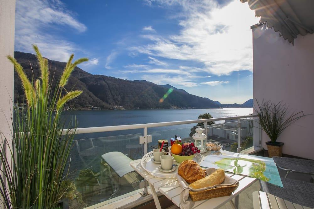Family Apartment, 1 Double Bed, Garden Area (Residenza La Costa) - Balcony