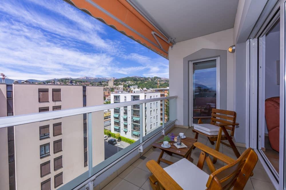 Apartament rodzinny, Wiele łóżek, 2 łazienki (Residenza Vecchio Torchio) - Balkon