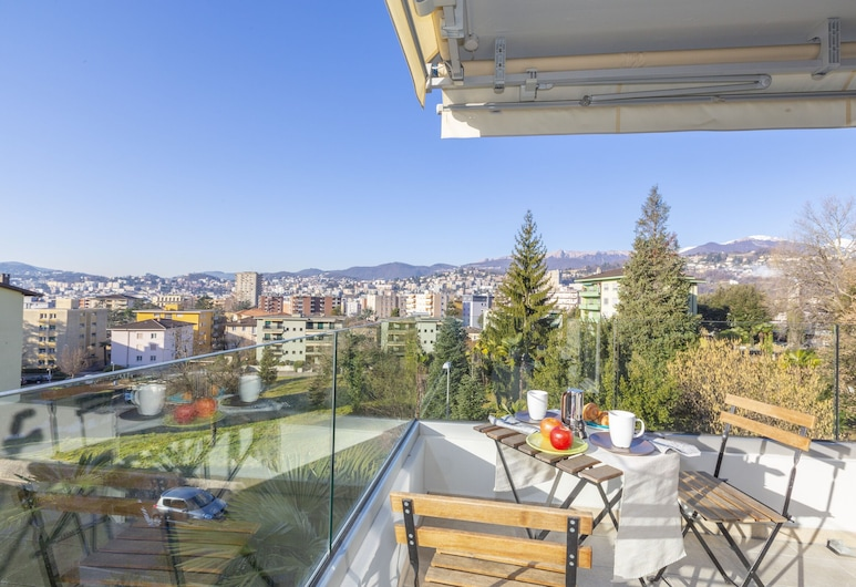 Semplicemente Casa, לוגאנו, דירה משפחתית, מיטה זוגית וספה נפתחת, 2 חדרי רחצה (Semplicemente Casa), מרפסת/פטיו