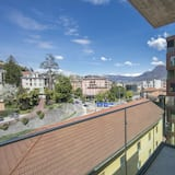 Familienapartment, Mehrere Betten (Urban Flat Paradiso) - Balkon
