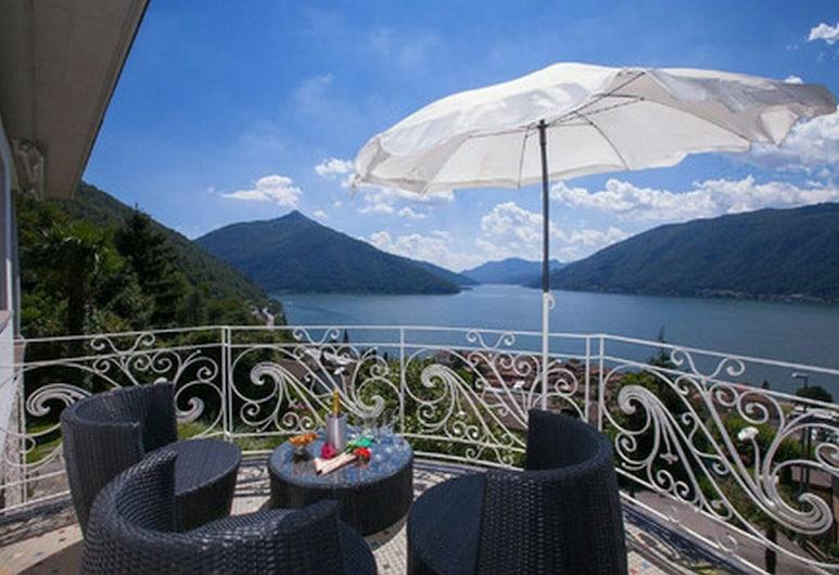 Villa Lago Lugano, 比索内 , 露台