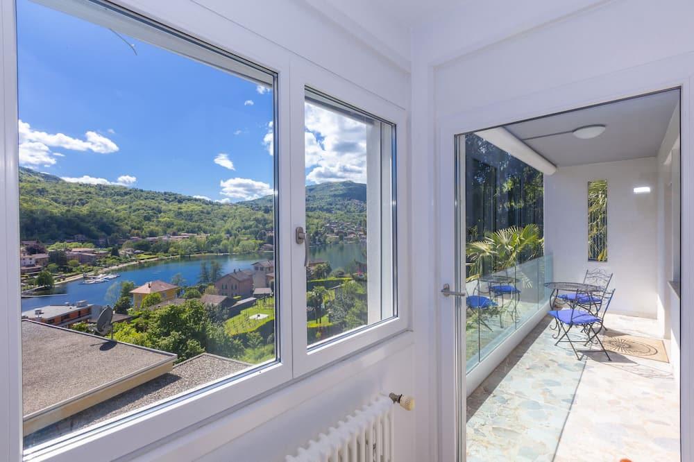 Appartement, 2 chambres, balcon, vue lac - Balcon