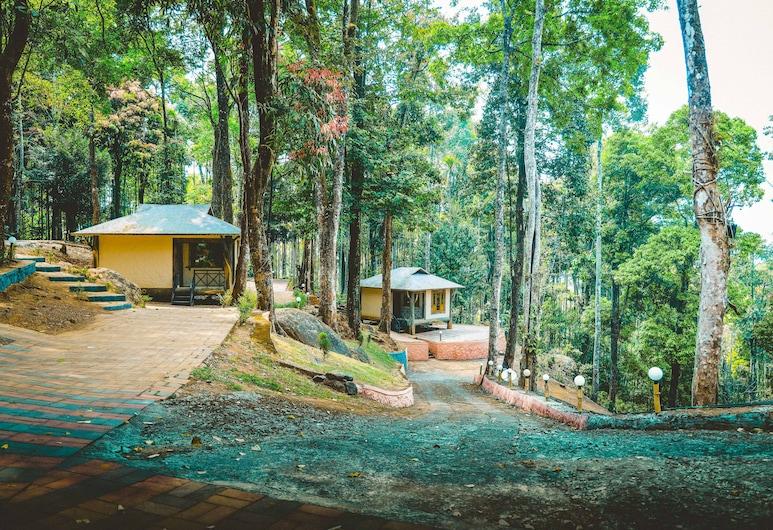 Vythiri Wild Forest Resort, Vayittiri, Deluxe - kahden hengen huone, Vierashuone