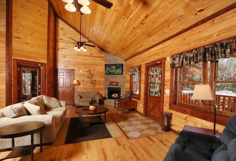 Splash N' Play #524 by Aunt Bug's Cabin Rentals, Cosby, Hytte - 5 soveværelser, Opholdsområde