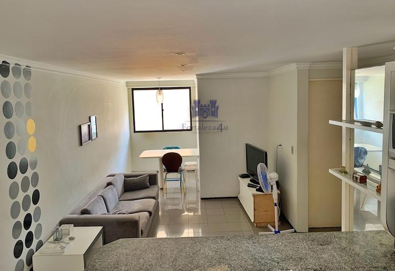 Διαμέρισμα δύο υπνοδωματίων δύο τετράγωνα από το Feirinha Artesanal da Beira Mar, Fortaleza