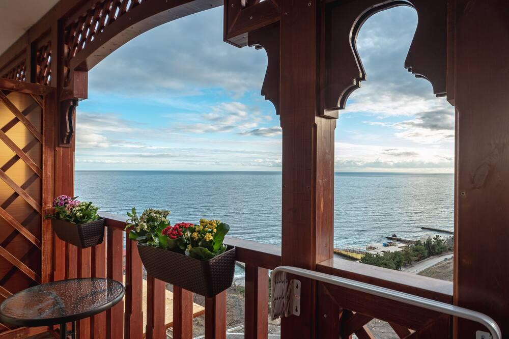 Standard Double Room, 1 Queen Bed, Balcony, Beachfront - Balcony