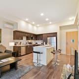 Luksusa dzīvokļnumurs, viena guļamistaba - Dzīvojamā istaba