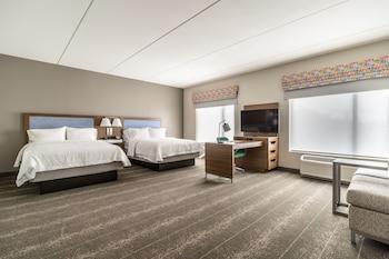Raleigh — zdjęcie hotelu Hampton Inn & Suites Raleigh Midtown, NC