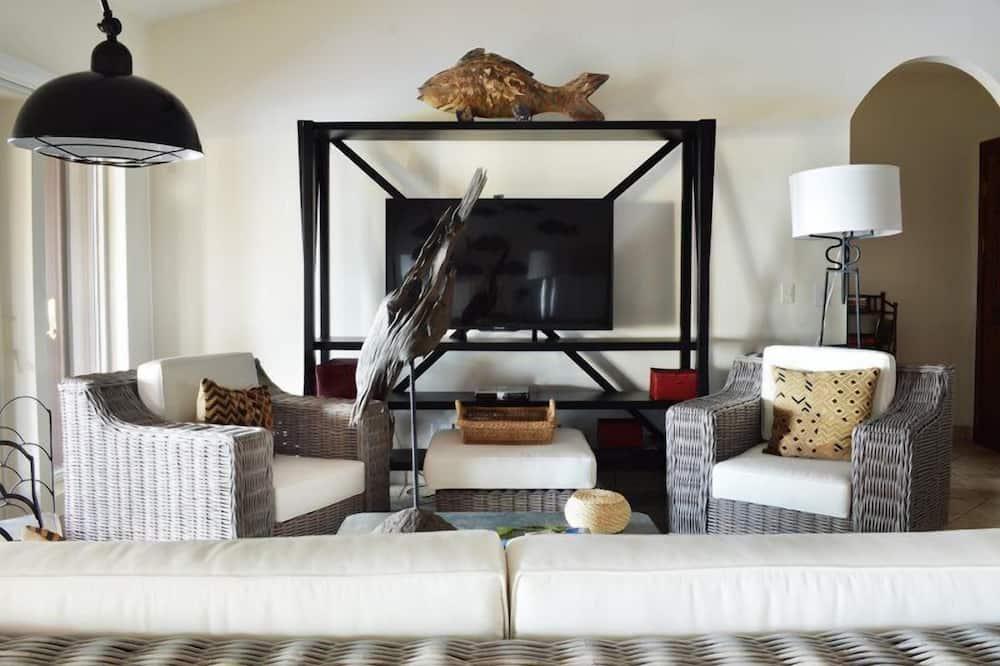 Luxury Double Room - Living Area