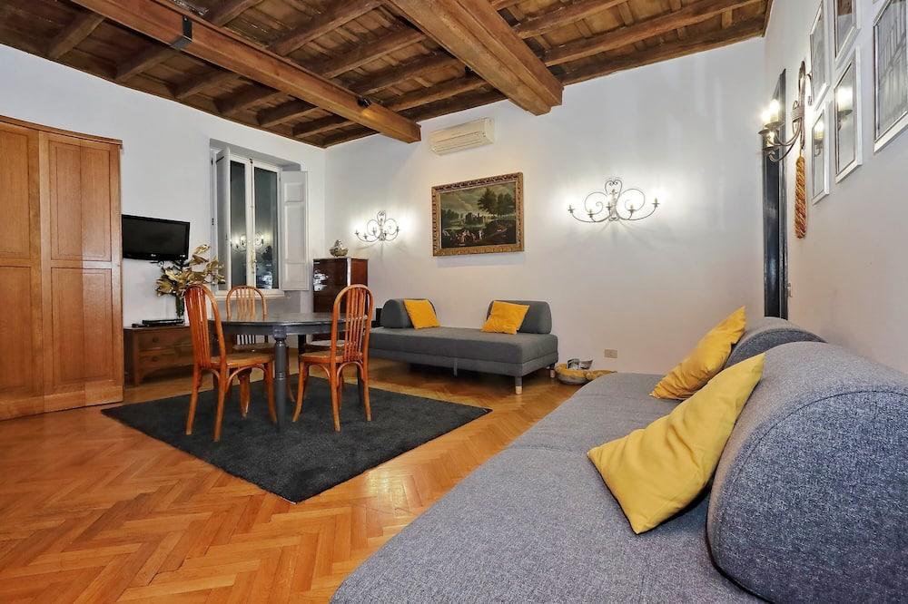 Διαμέρισμα, 2 Υπνοδωμάτια, Ψηλό κτήριο (Monte di Pieta) - Περιοχή καθιστικού