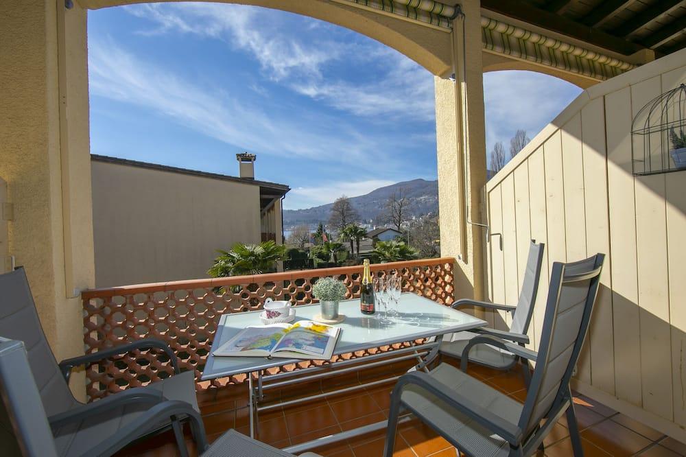 Family Apartment, 1 Katil Kelamin (Double), Garden Area (Little Love 207) - Balkoni