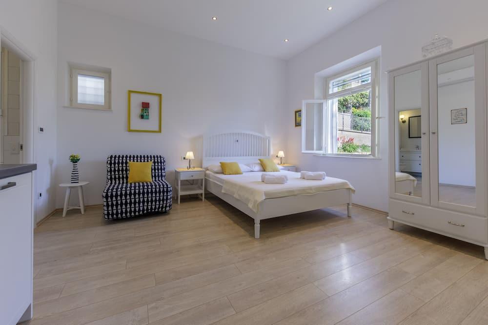 Estudio Confort, 1 cama doble, balcón - Sala de estar