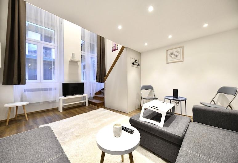 Cosy flat in Király str, King, Budapest, Interiør