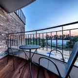 Appartement Duplex, baignoire à jets - Balcon