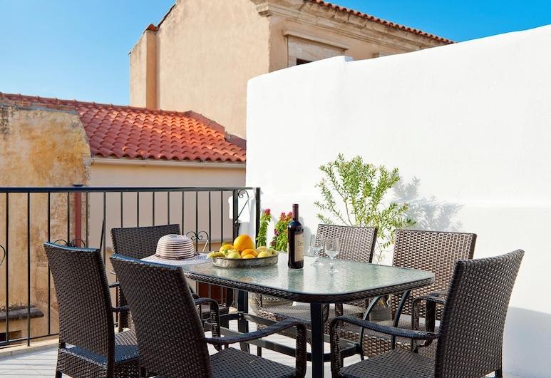 Aphrodite House, Chania, Apartment, Balcony