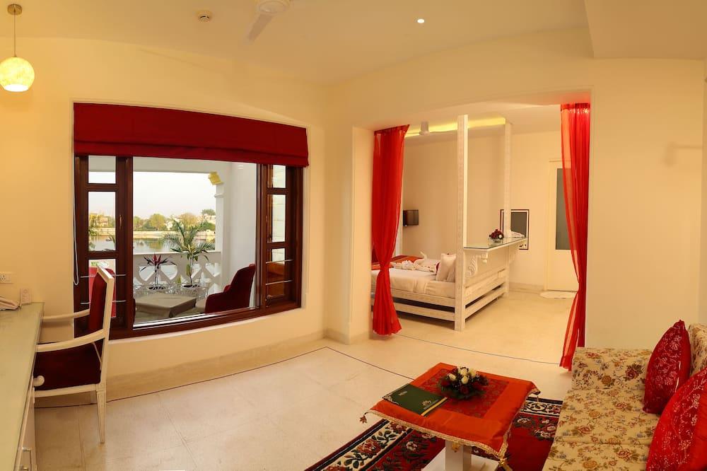 Royal-suite - søudsigt - Opholdsområde