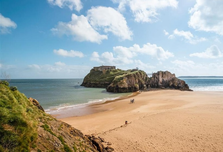Court Vale Cottage, Tenby, Spiaggia