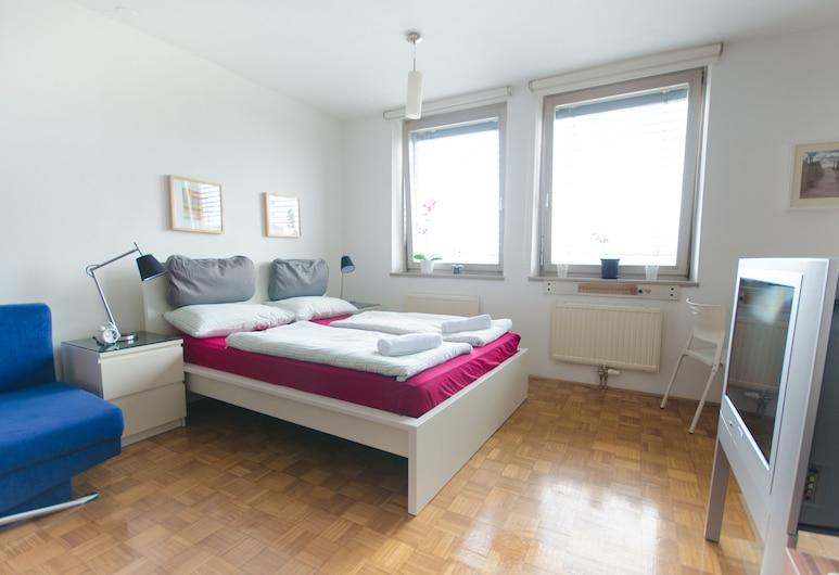 Dunajska Apartment, ليوبليان, Studio Apartment, الغرفة