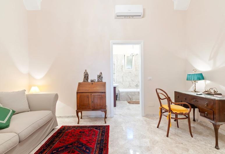 La dimora del Cavaliere di Squinzano, Squinzano, Apartment, 1 Bedroom, Living Area