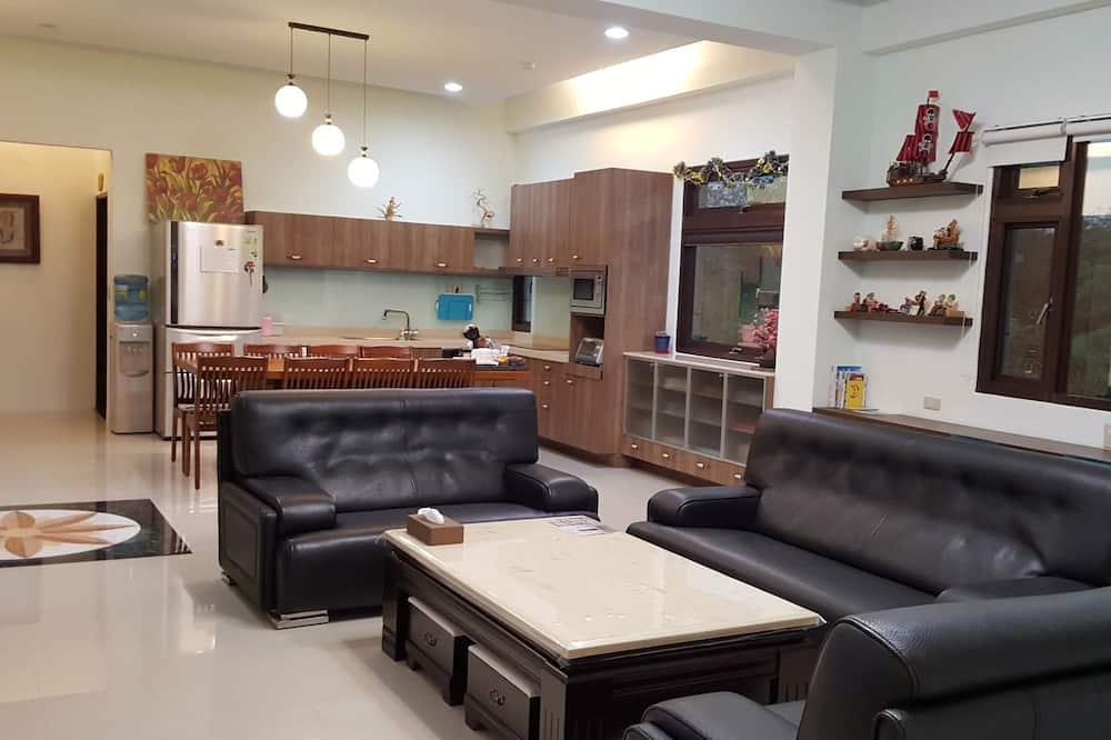 บ้านพัก, 3 ห้องนอน - พื้นที่นั่งเล่น