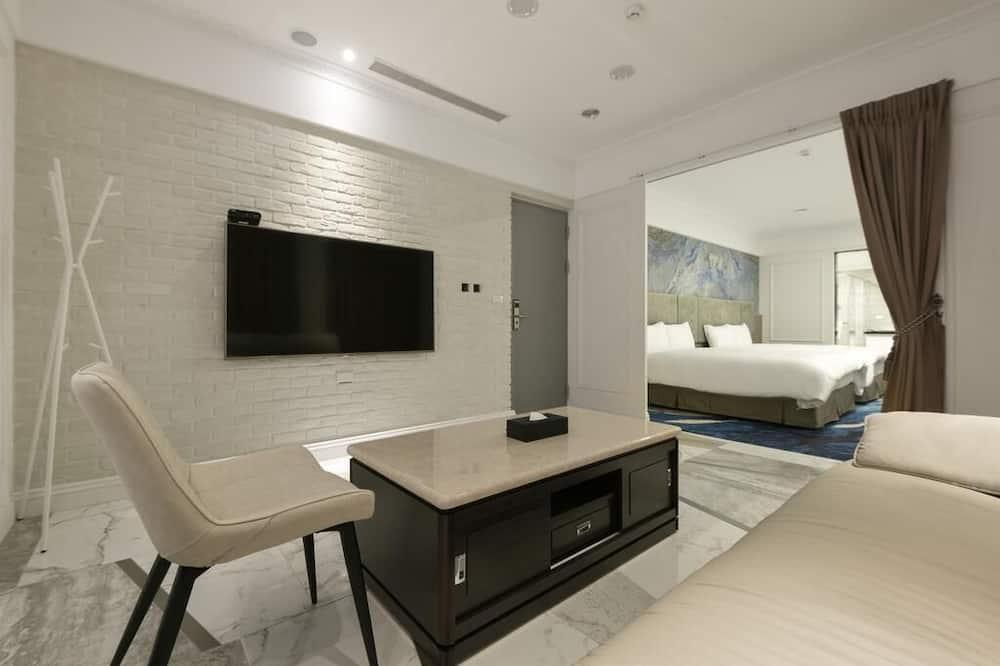 Paaugstināta komforta četrvietīgs numurs, vanna - Dzīvojamā zona