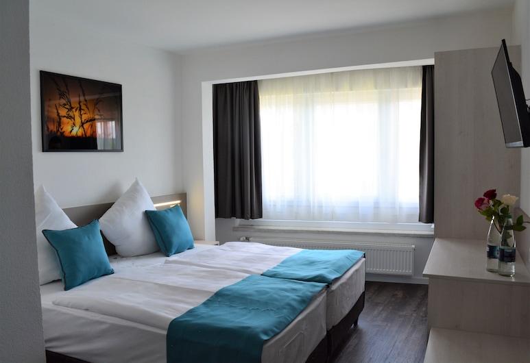 Hotel BaWü, Stuttgart, Quarto Duplo ou Twin Deluxe, Quarto