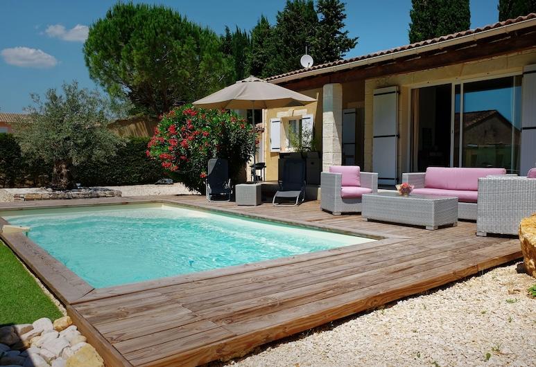 Maisons piscines privées ou partagées, Cornillon