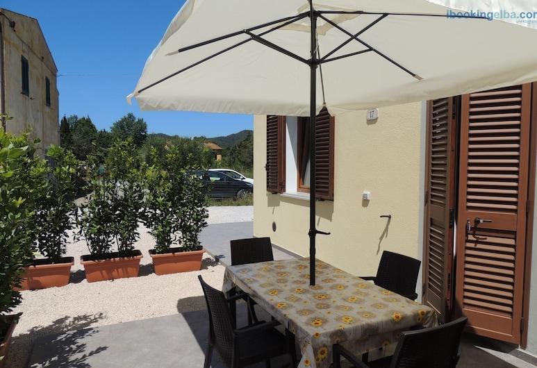 Casa Emy, Portoferraio, Leilighet, 1 soverom (Casa Emy), Terrasse/veranda