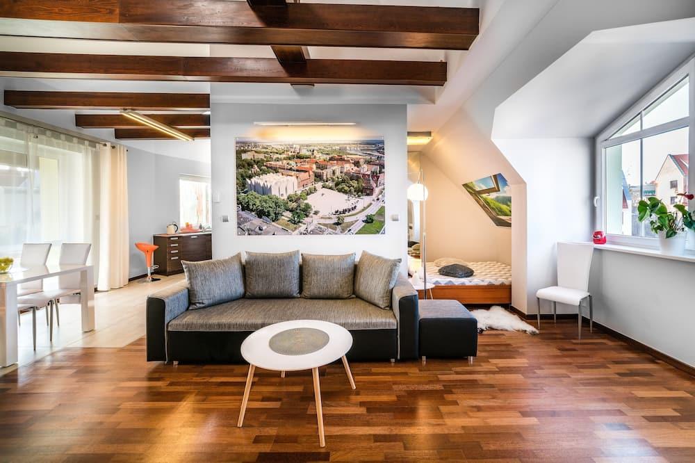 Augšstāva numurs - Dzīvojamā istaba