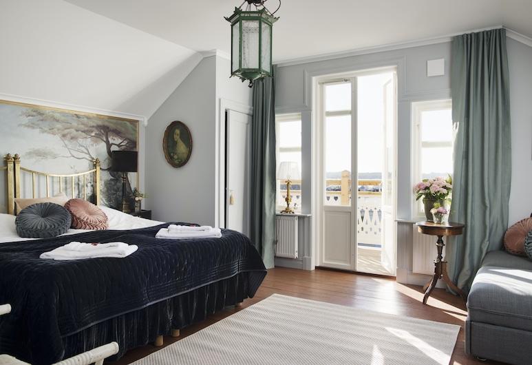 Strandflickornas Annex Gula Villan, Lysekil, Phòng đôi Superior (Mini Suite), Phòng