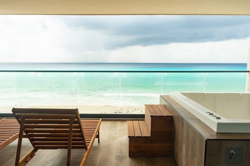 Villa, 1 letto king, non fumatori, fronte mare - Vista su una distesa d´acqua