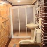 Chambre Triple (B) - Douche de la salle de bain