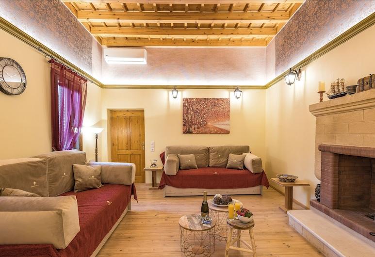 Rhodes Old Town Castello Suite, 羅德島, 家庭單棟房屋, 客廳