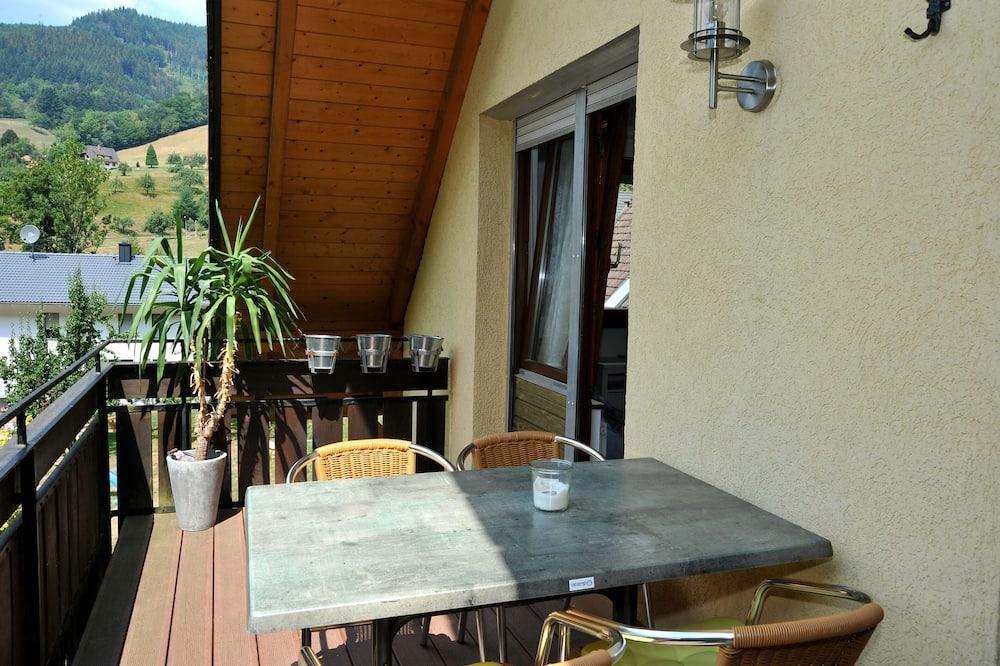 Стандартные апартаменты, 2 спальни, вид на долину (Kandelblick) - Балкон