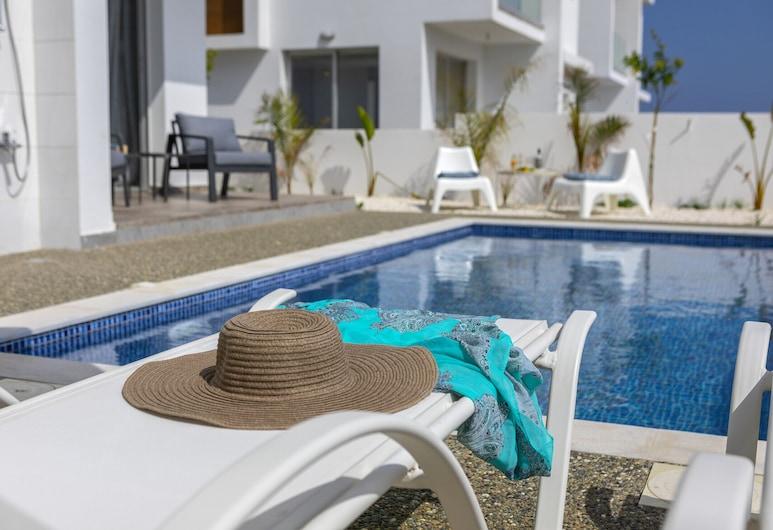 Protaras Seaview Villa Alasia, 利馬索, 游泳池
