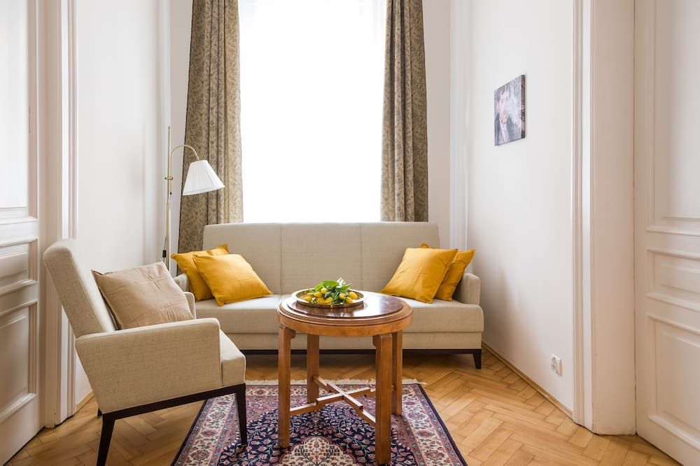 アパートメント 1 ベッドルーム - リビング エリア