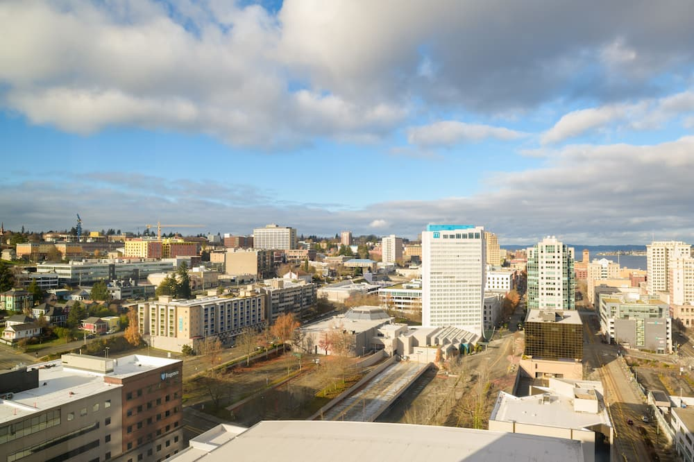 City-Zimmer, 1King-Bett, Nichtraucher, Stadtblick (High Floor) - Blick auf die Stadt