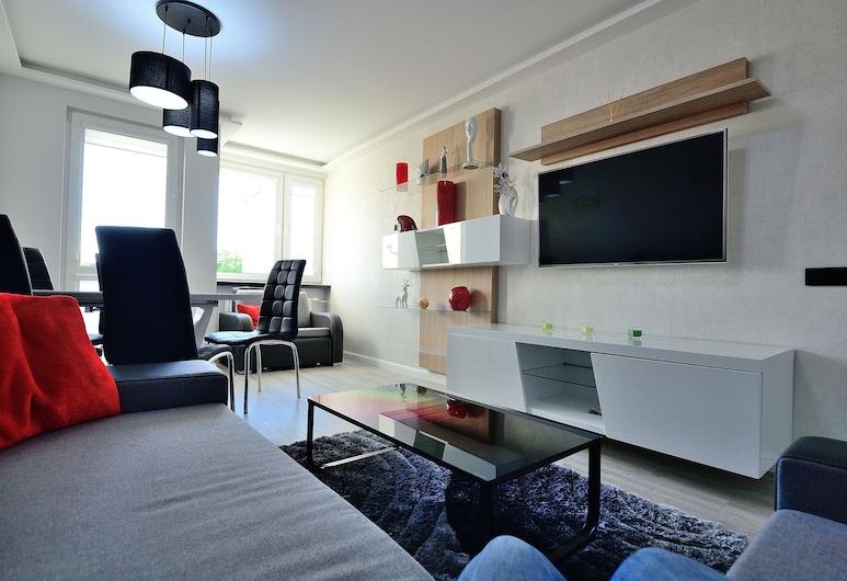 Victus Apartamenty - Tesla, Sopot, Apartment, Wohnbereich
