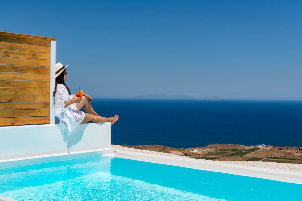 Deluxe Sea View Suite with Private Pool - Piscine privée